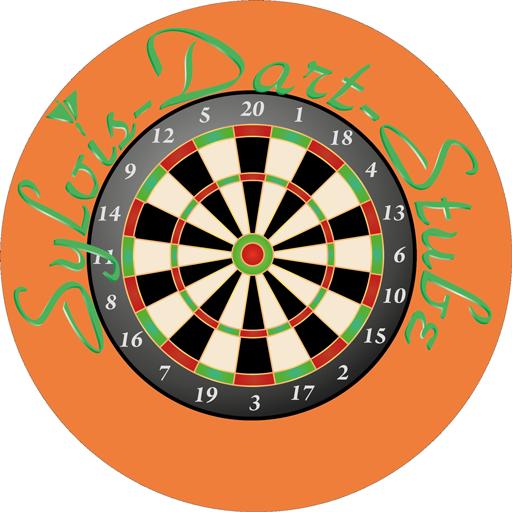 Sylvies Dartstube - Logo rund