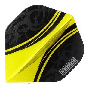 Pentathlon Tribal Clear - schwarz-gelb