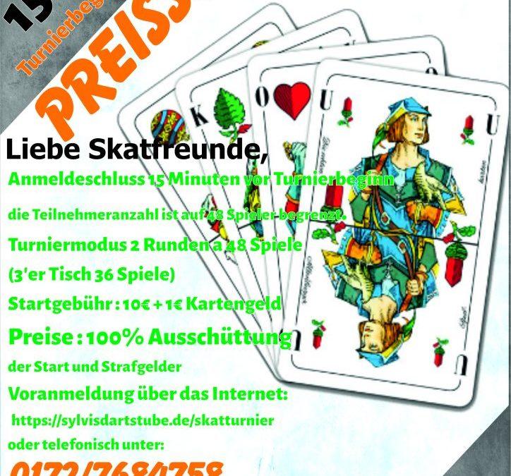 Preis-Skatturnier - 15. März 2020
