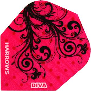 Harrows Diva Standard Flights (trible)
