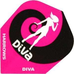 Harrows Diva Standard Flights (Diva/Lady)