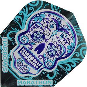 Harrows Marathon Standard Flights (blue Face)